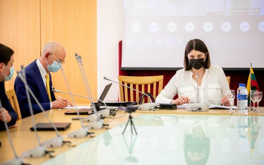 """Skaistė """"valstiečiams"""" atkirto dėl 2 milijardų eurų skirstymo plano: mitas, kad jis buvo slepiamas"""