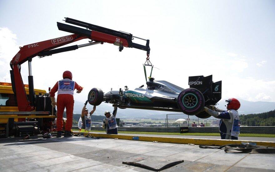 Nico Rosbergo bolidas