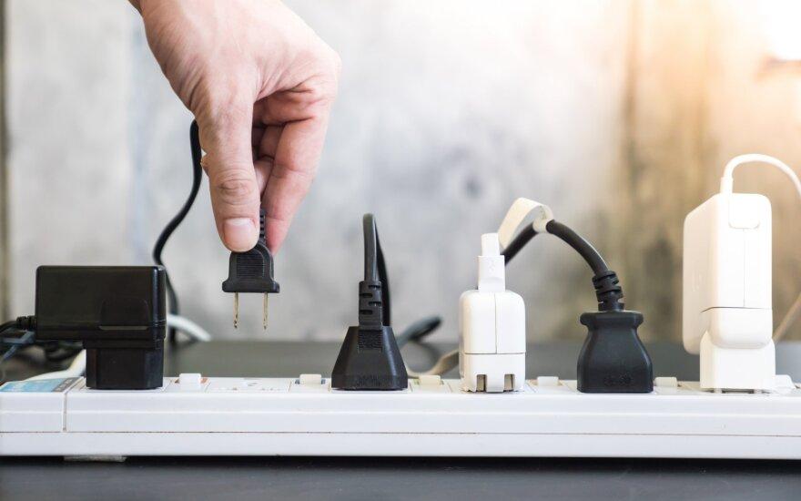 Elektros kištukiniai lizdai
