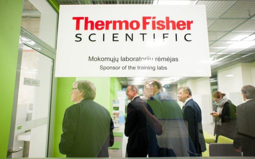 """""""Thermo Fisher Scientific Baltics"""" pelnas pernai – 95 mln. eurų, dividendų nemokės"""