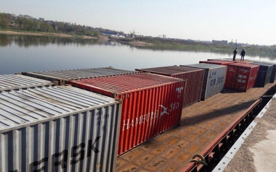 Marvelės uostas, pirmas komercinis krovinys