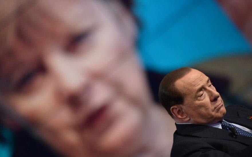 S. Berlusconi iškrėtė A. Merkel pokštą