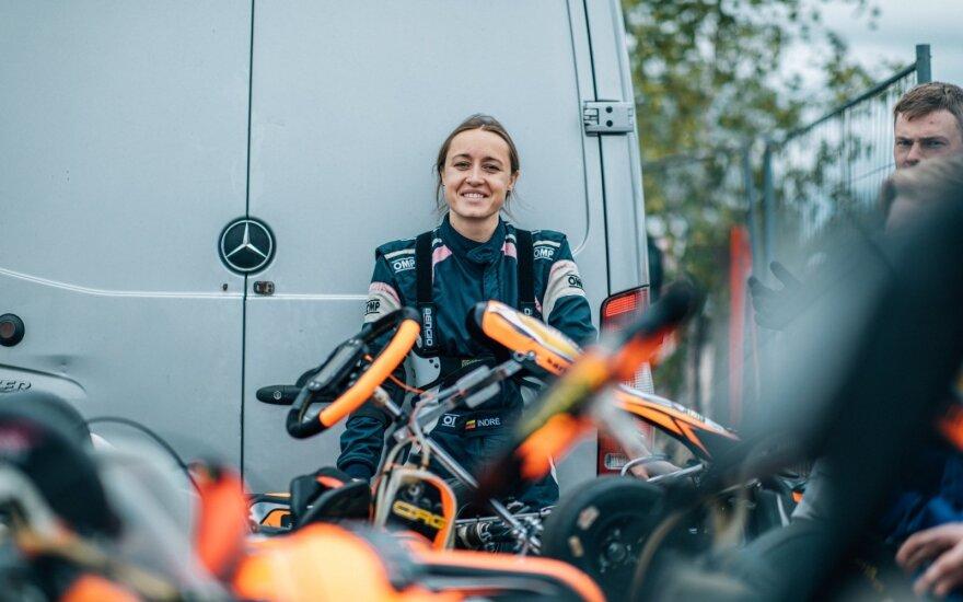 """""""Baltic Karting Academy"""" antrąjį sezoną pradėjo dalyvių gausa ir nuožmia jaunių kova"""