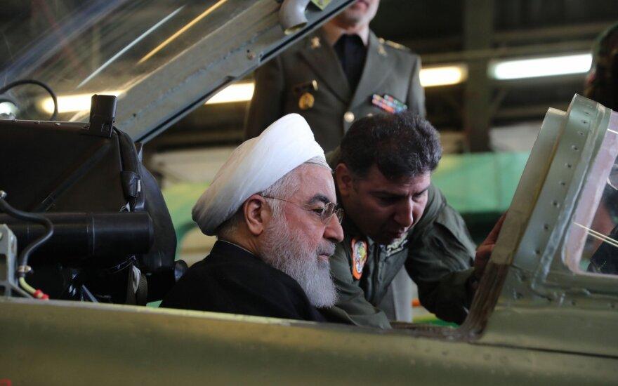 Iranas ir JAV įtemptai laukia tarptautinio teismo sprendimo dėl sankcijų Teheranui
