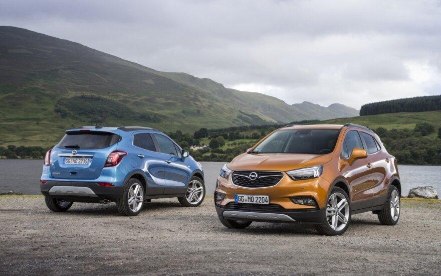 """Pardavimų sėkmę """"Opel"""" labiausiai sieja su """"Mokka X"""" modeliu"""