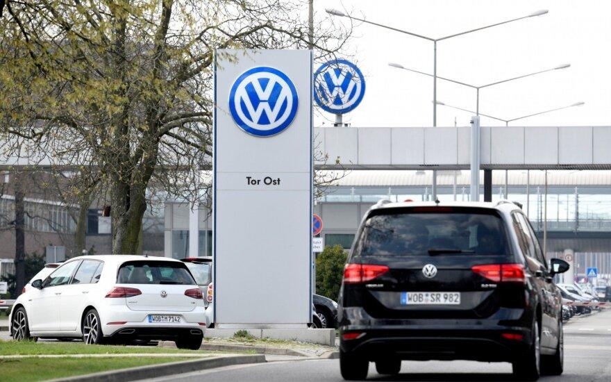"""""""Volkswagen"""" objektas Volfsburge"""