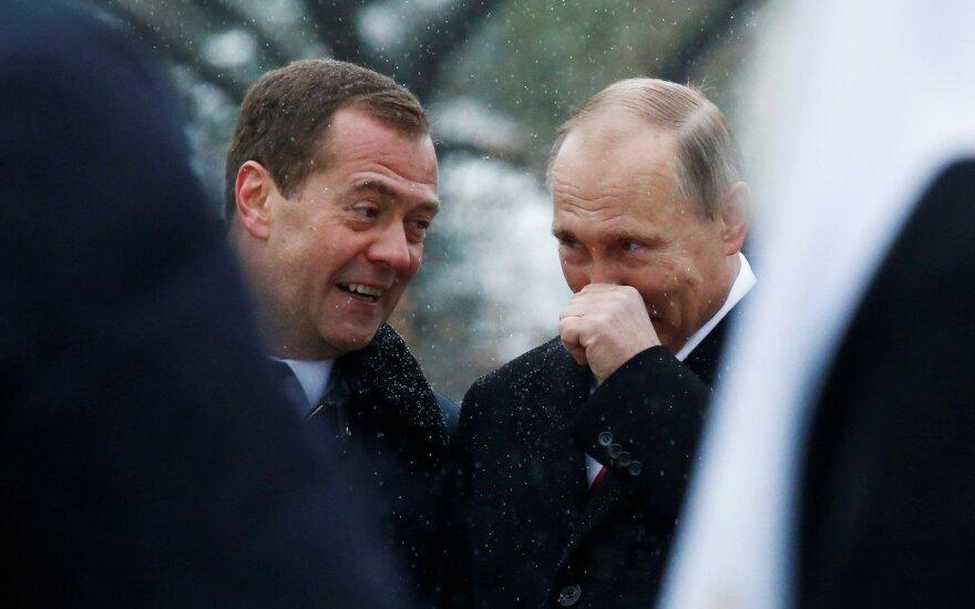 Rusijos Dūma patvirtino Medvedevą premjeru