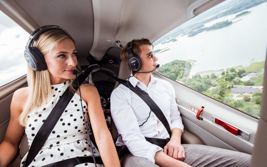 """Lietuviai pamėgo prabangą ir renkasi privačius skrydžius: tai tik truputėlį brangiau už """"Uber"""""""