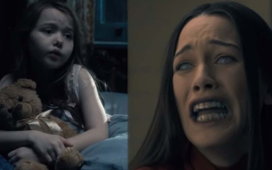 "Serialo ""The Haunting of Hill House"" kadrai"