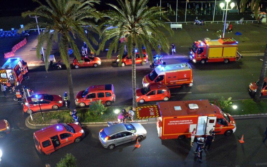 'No Lithuanians hurt' in Nice attack
