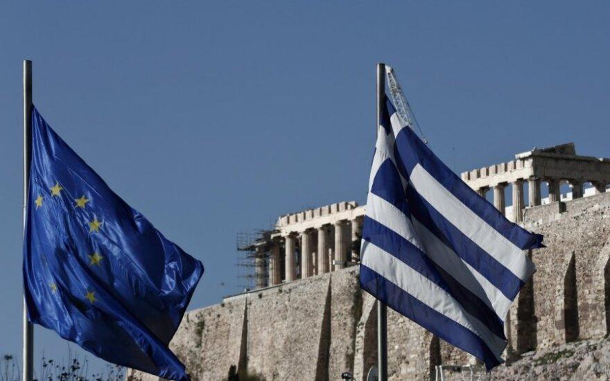 """ES gelbėtoje Graikijoje – biudžeto """"perteklius"""""""