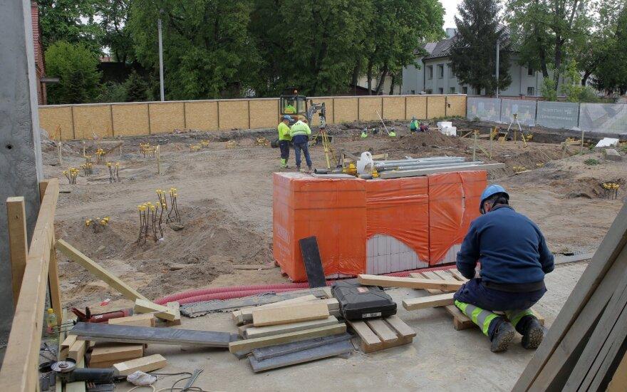 Krepšinio namų statybos