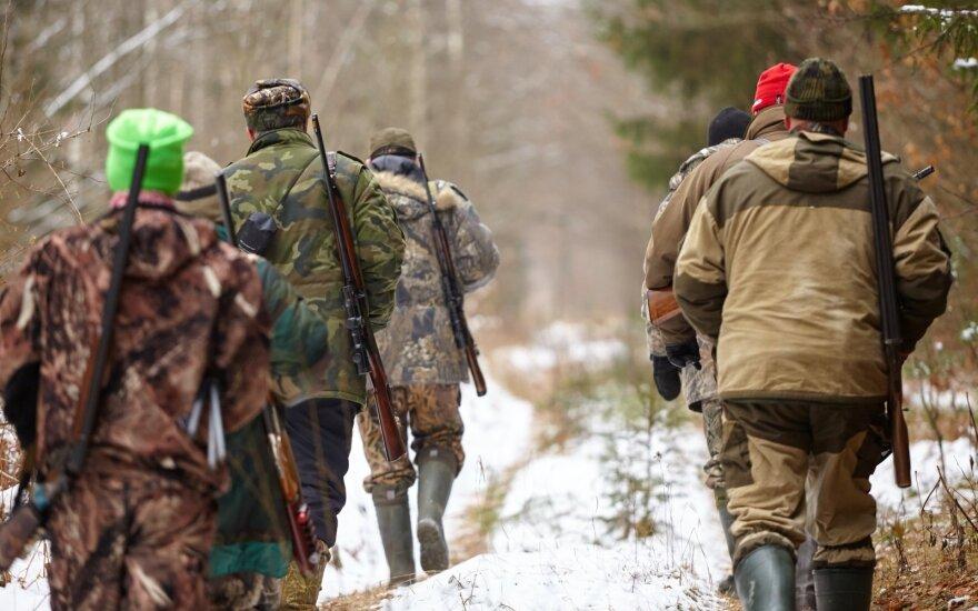 Medžiotojai žiemą