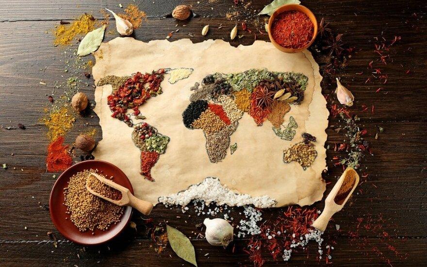 Egzotiški receptai iš lietuviškų produktų
