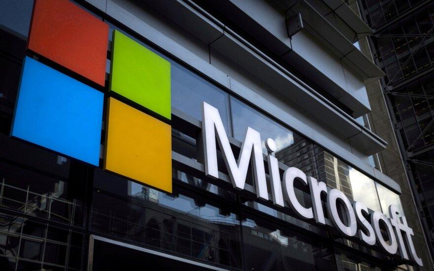 Sutriko Microsoft veikla