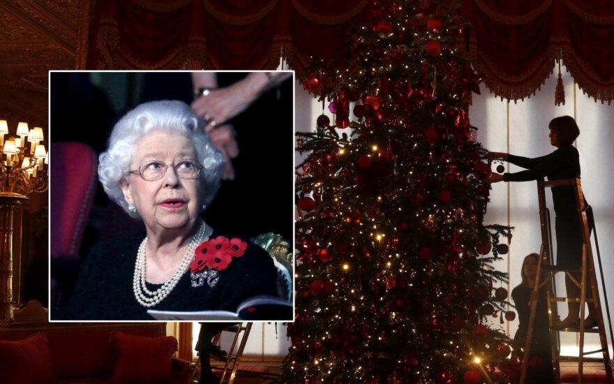 Kalėdų eglutė Windsoro pilyje