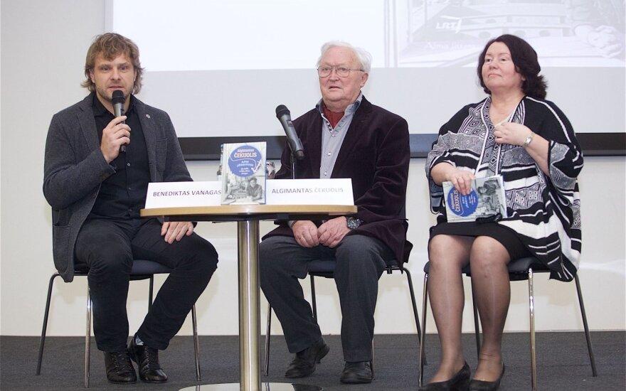 Benediktas Vanagas, Algimantas Čekuolis, Edita Čekuolienė