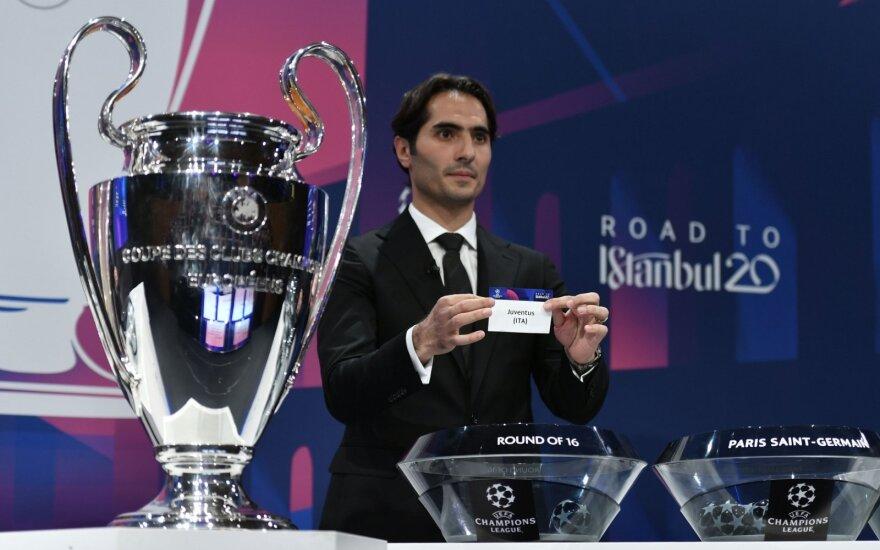 UEFA Čempionų lygos burtų traukimo ceremonija