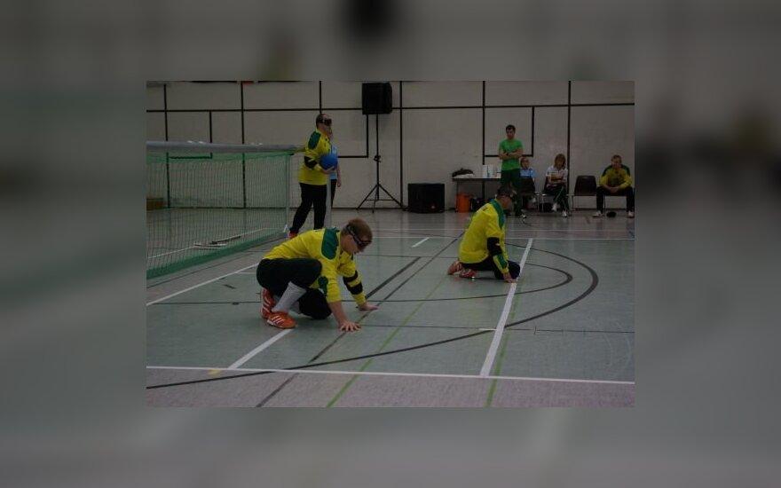 Lietuvos golbolo rinktinė