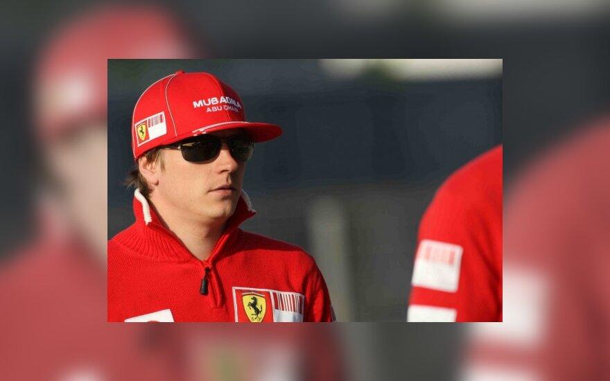 Kimi Raikkonenas (