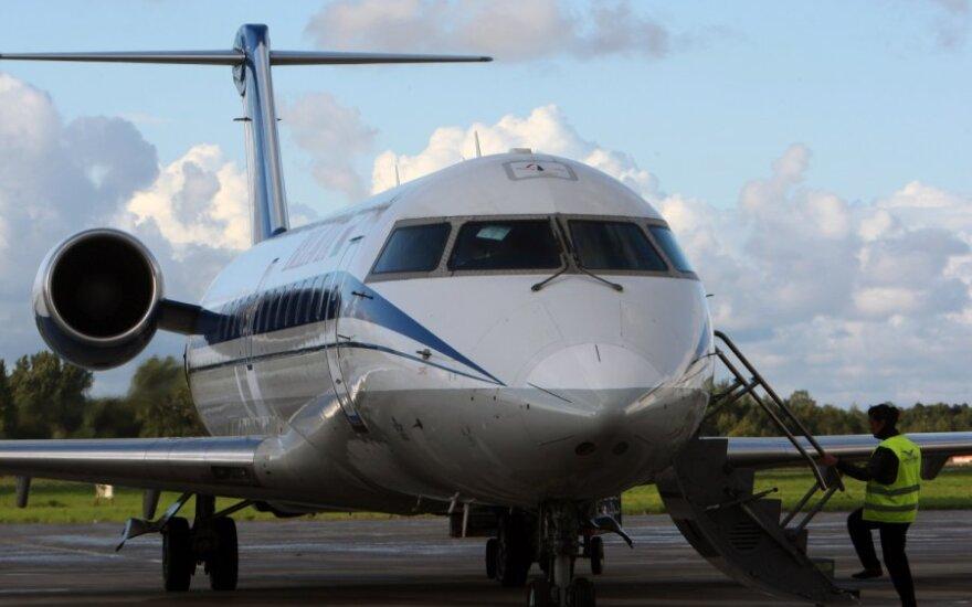 """""""Belavia"""" avialinijų lėktuvas"""