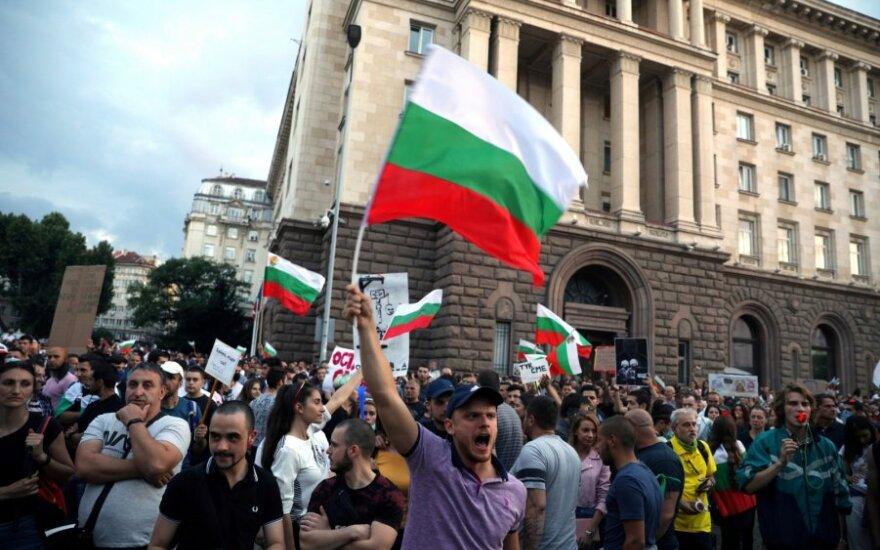 Protestai Bulgarijoje