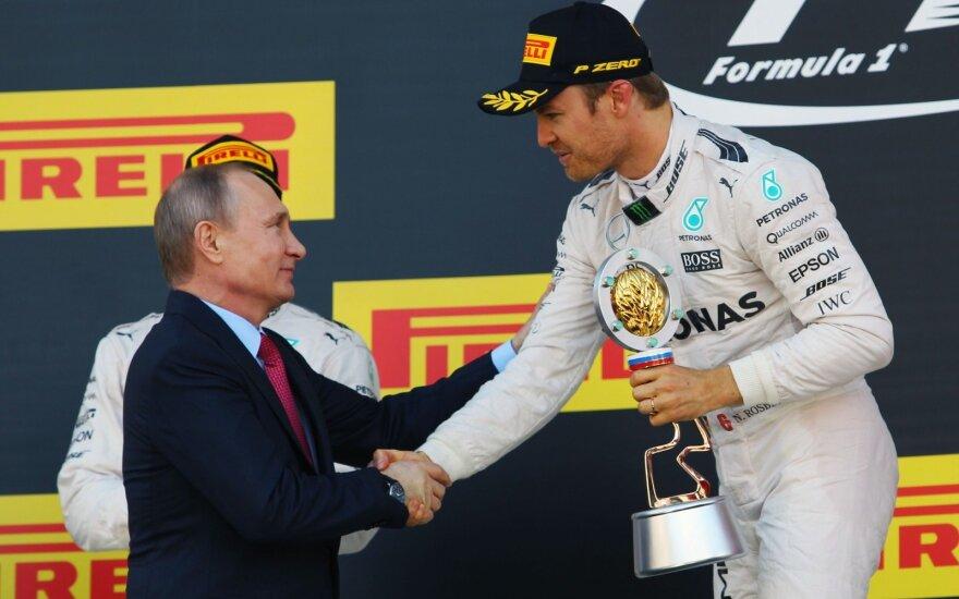 Rosbergas ir Putinas