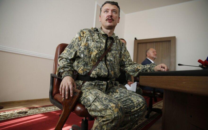 Ukrainoje siautėjusį Strelkovą prispaudė rimtos bėdos: Putinas man kelia pasidygėjimą