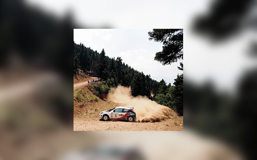 """Ford Focus WRC"" automobilis"