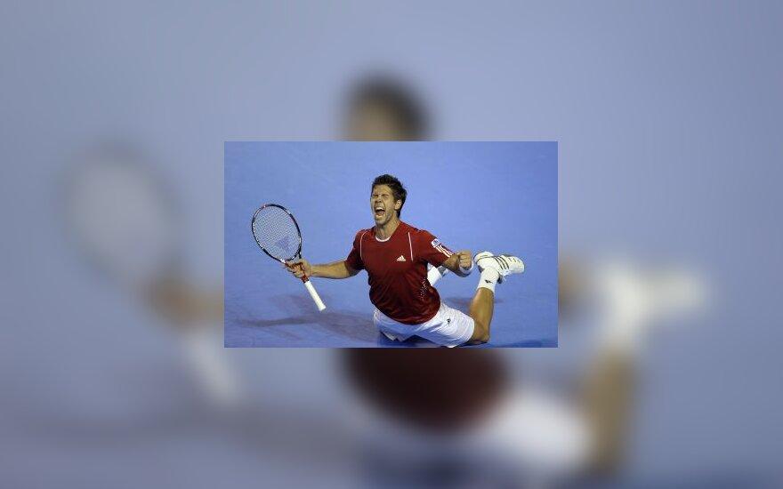 Ispanijos tenisininkai trečią kartą iškovojo Deviso taurę
