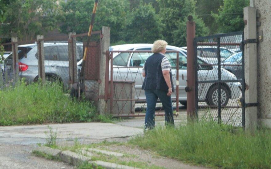 """Ernesto Butrimo """"Porsche"""" policijos aikštelėje"""
