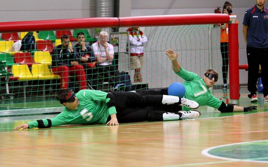 Europo golbolo čempionatas. Lietuva - Vokietija