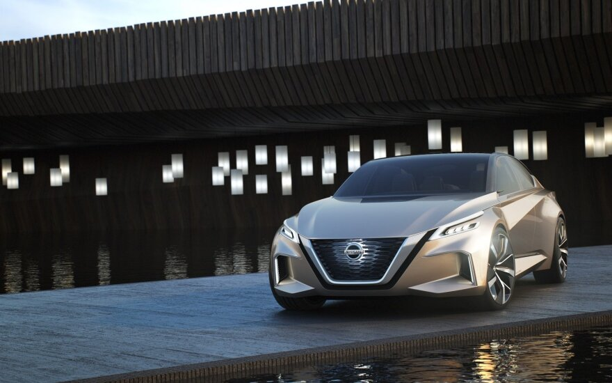 """Nissan Vmotion 2.0"" prototipas"