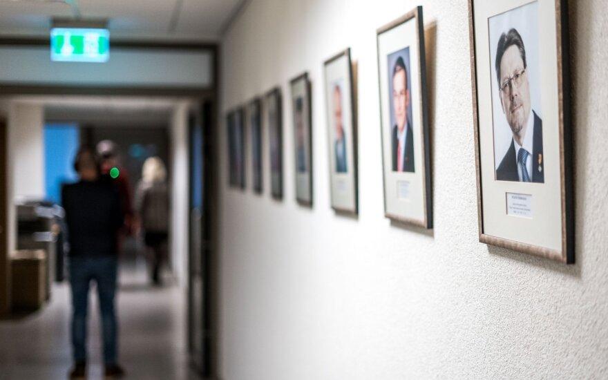 Baigdama kadenciją Seimo kanclerė atvėrė kelią įsteigti naują pareigybę