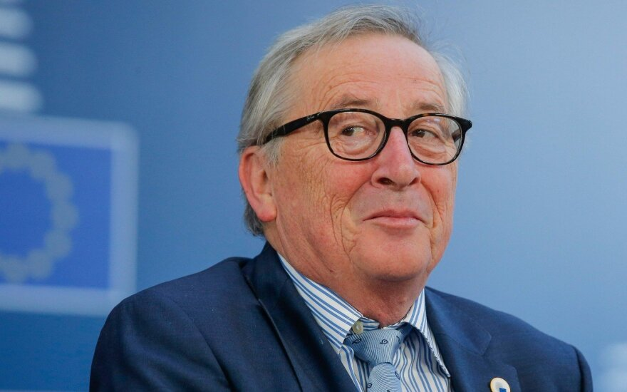 J. C. Juncker. Lithuania: at home at the heart of our Union