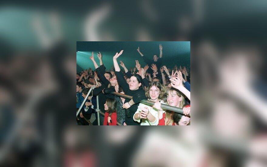 Sporto rūmai, koncertas