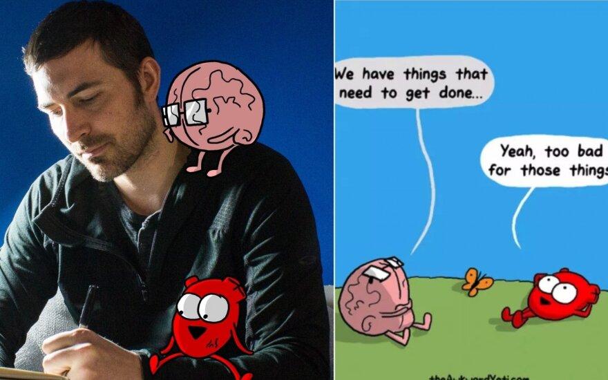 Nickas Selukas ir jo komiksas