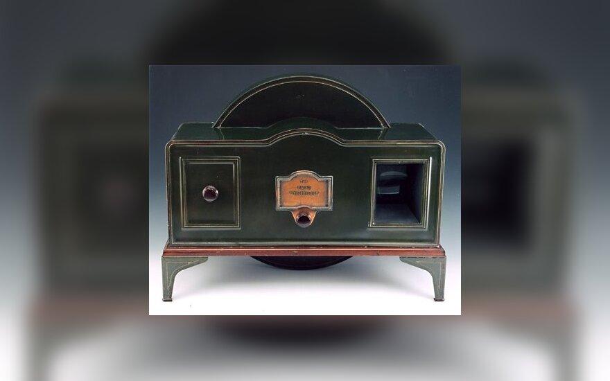 Vienas iš pirmųjų televizorių pasauyje (educationscotland.gov.uk nuotr.)