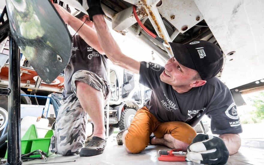 Dakaro mechanikai galimybę dirbti švaroje turi retai