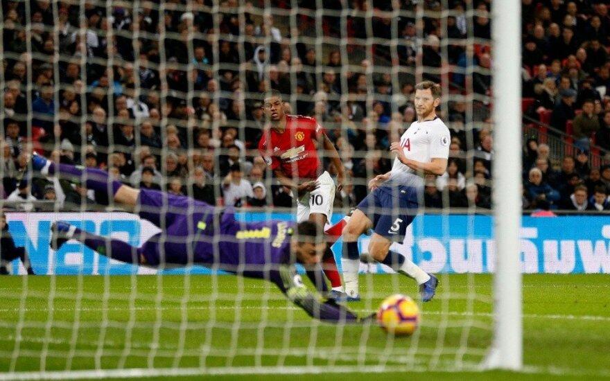 """Šešios iš šešių: atgimęs """"Man United"""" patiesė ir """"Tottenham"""""""