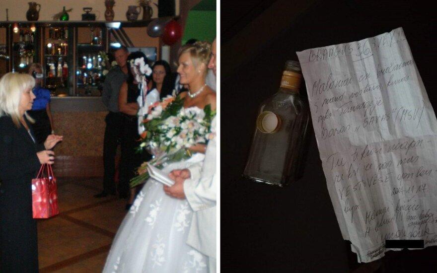 Kaip filme: į vestuves atvykusi nepažįstama moteris buvo tikra staigmena