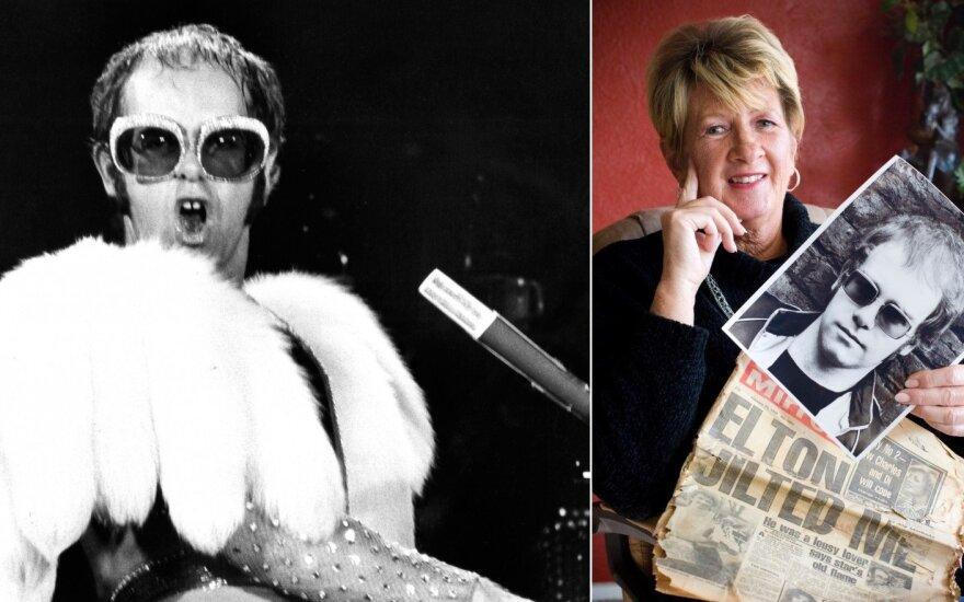 Elton John ir Linda Hannon