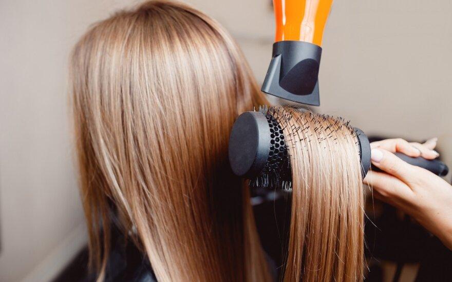 Plaukų džiovinimas