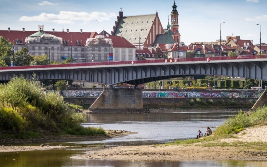 Vyslos upė Varšuvoje