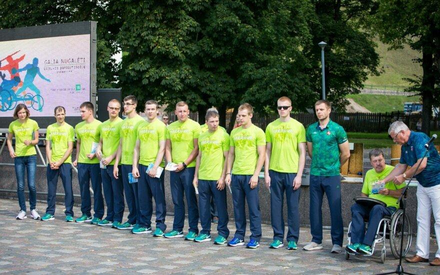 Atsinaujinusi Lietuvos parolimpinė rinktinė jau aklimatizuojasi Rio