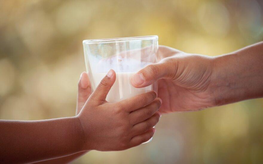 Pienas – sveikas pasirinkimas
