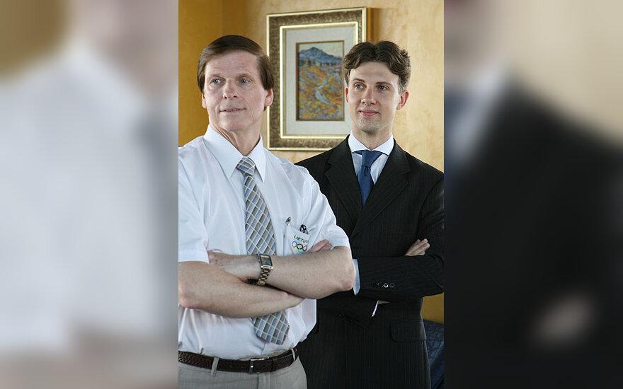 Česlovas Norvaiša ir Arūnas Bižokas
