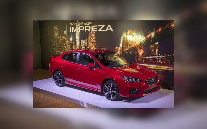 """Naujos kartos """"Subaru Impreza"""""""