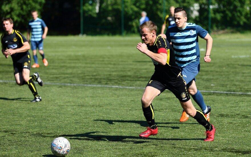 Lietuvos mažojo futbolo čempionato akimirka