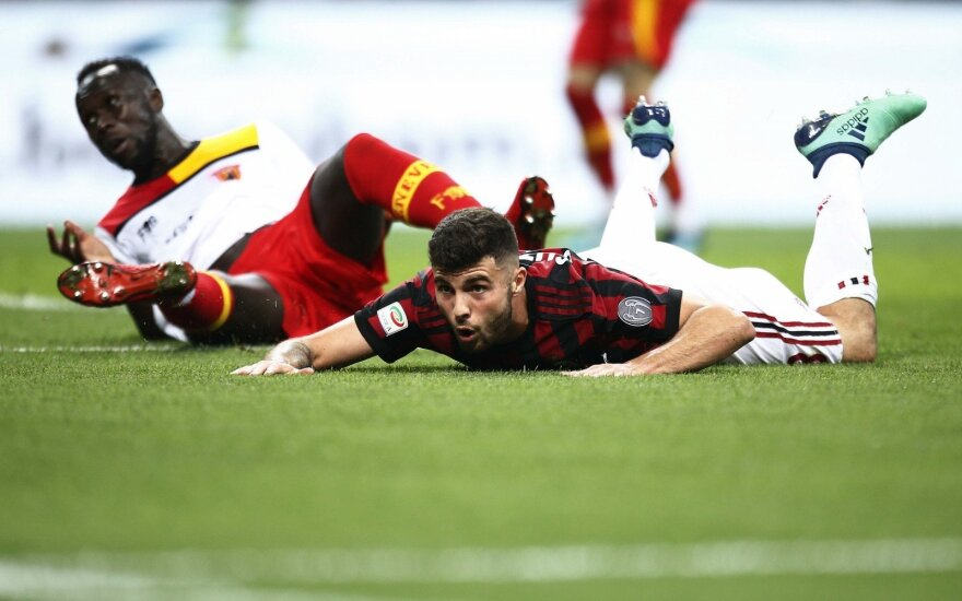 AC Milan ir Benevento mūšis